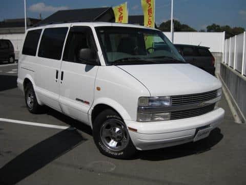 カタログ画像:シボレーアストロ(CHEVROLET ASTRO) LS 4WD 2002年12月 GH-CL14G 4300cc サミットホワイト メイン
