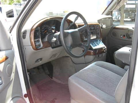 カタログ画像:シボレーアストロ(CHEVROLET ASTRO) LS 4WD 2002年12月 GH-CL14G 4300cc サミットホワイト 内装